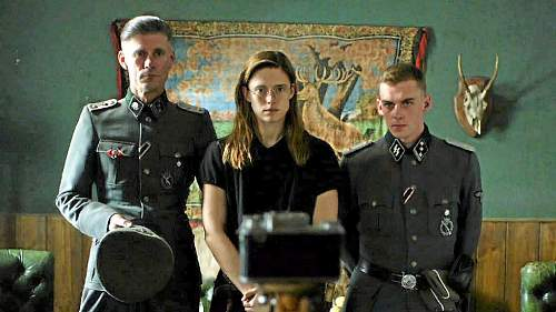 New WW2 movie, find anything wrong with the unifors in the picture ;)
