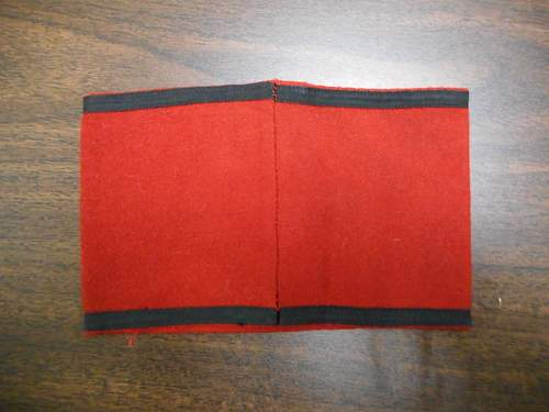 SS armband for review