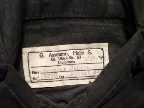 Name tag  - Assmann Halle