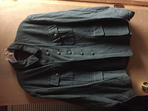 SS/SD tunic with empty cufftitle - ask for help