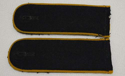 Waffen SS Signals shoulder straps