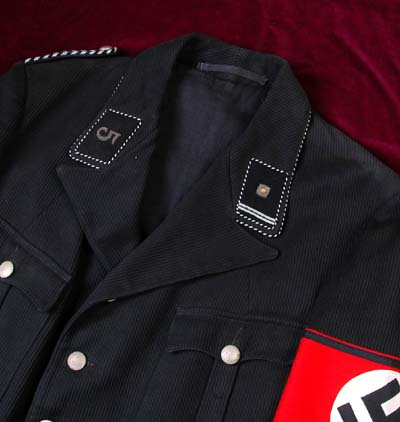 Black Corduroy tunics