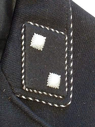 SS Collar tabs?