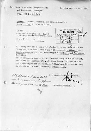 Click image for larger version.  Name:Sonderkommando SSTV - SSOA Südwest Schreiben 1-1.jpg Views:44 Size:197.6 KB ID:946668
