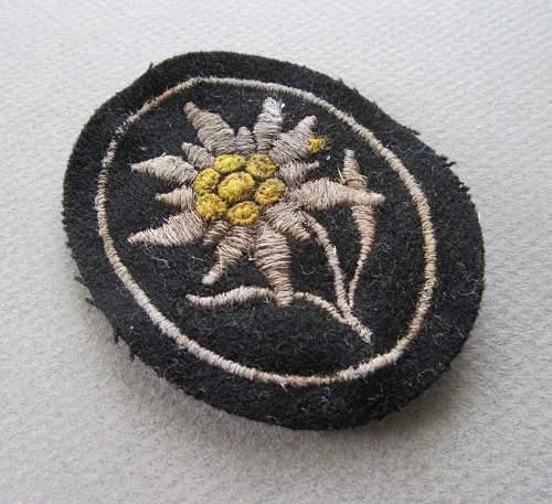 SS sleeve edelweiss