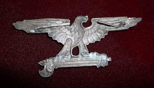 Authentic SS Italian Volunteer Insignia ?