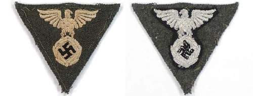 1st pattern Black M-34 Side cap