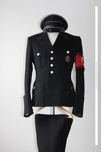 Interesting Black Uniform for Sale