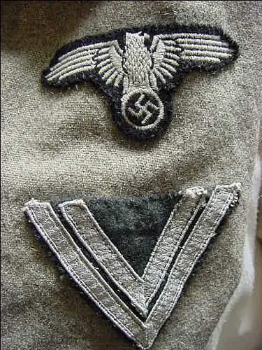Waffen SS Sleeve Eagle - Opinion?