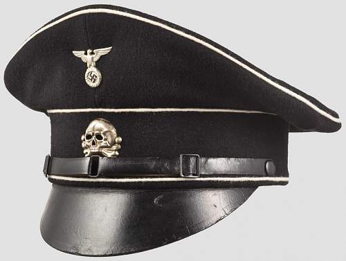 fake SS Gruppe West cap
