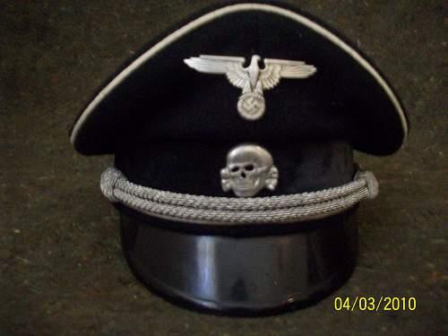 SS Allgemeine Visor Original or Fake