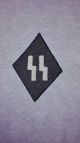 SS sleeve diamond, Real of Fake?