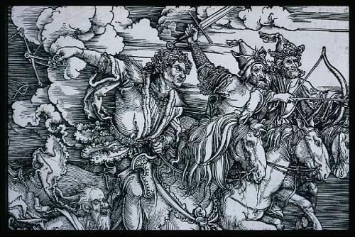 Click image for larger version.  Name:Albrecht-Dürer-The-Four-Horsemen-Apocalypse-probably-1497-98-painting-artwork-print-e133666.jpg Views:25 Size:150.7 KB ID:964139