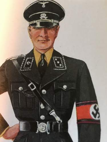 ss obersturmfuhrer jacket !