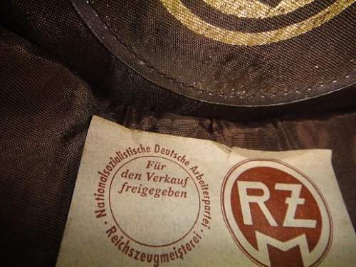 incorrect RZM tag in SS cap.