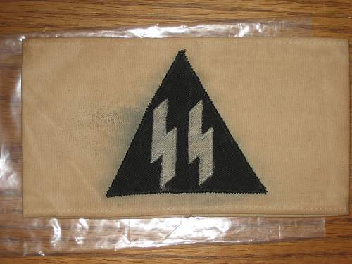 Anyone know what this SS armband is?