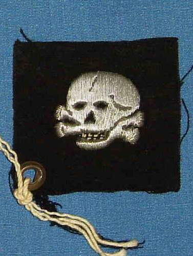 SS Totenkopf Cloth Patch.
