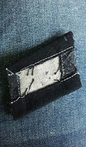 SS collar tabs help genuine or fake?