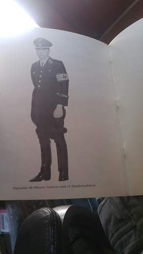 1963 advert for what likely fake black SS uniforms.