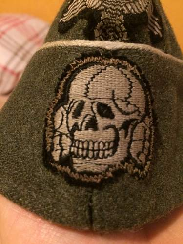officers ss side cap