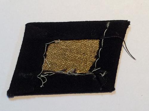 TOTENKOPF SS Dachau collar tab
