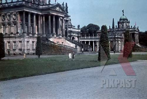 Potsdam, then and now.