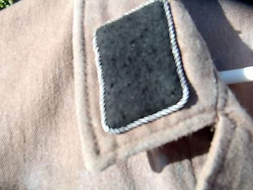 SS / SD drill tunic, possibly my next restoratiion project..