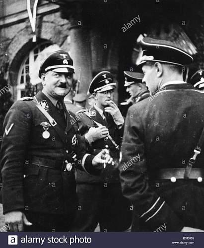 SS Wache, SSVT 1, Koenigsplatz, Ehrentempel