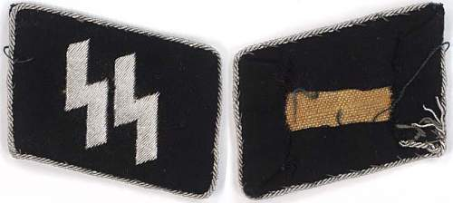 Are these original waffen ss tab ?