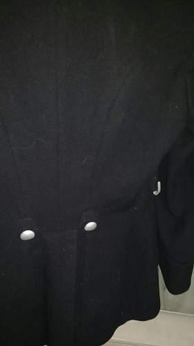 Black Service Tunic for Foot Regiment 87 (Innsbruck)