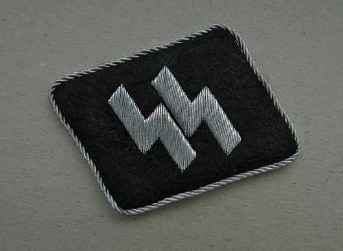 Waffen SS Officer Tabs