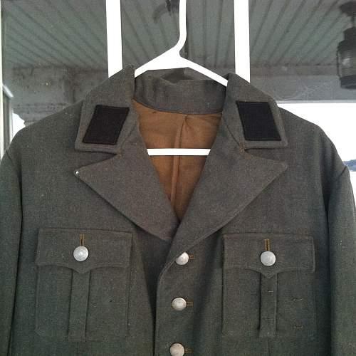 SS open collar tunic?