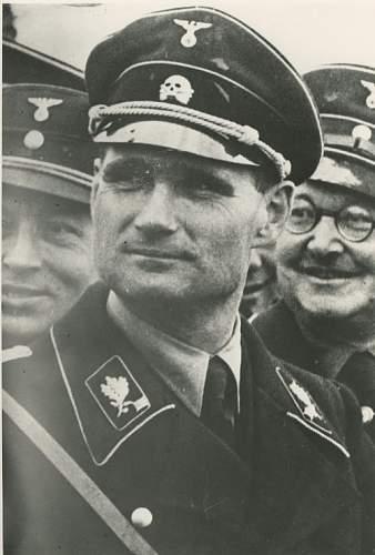 Very Early Standartenfuhrer Collar Tabs