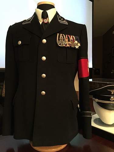 Early Black Tunic of SS Officer