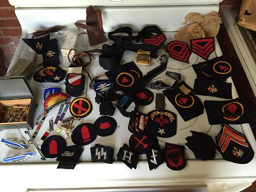 SS foreign patches
