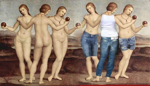 Click image for larger version.  Name:raphael-three-graces-in-levis.jpg Views:15 Size:234.0 KB ID:997872