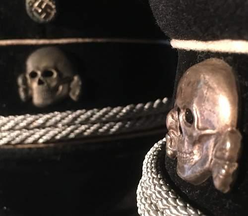 WW2 German Senior NCO Field Peak Cap - Real or Fake?