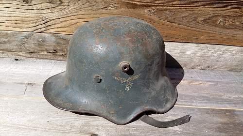 Luftwaffe Cut-Out Helmet?