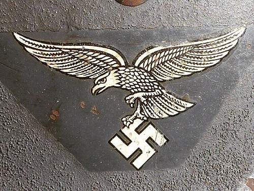 Click image for larger version.  Name:Early Luftwaffe Eagle on Cut out model 18.jpg Views:33 Size:100.2 KB ID:1001130