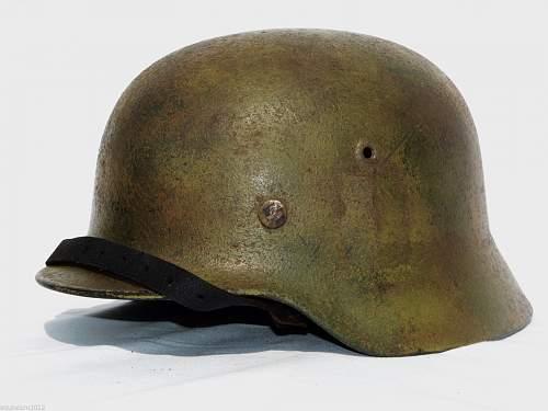 Warning, warning, Will Robinson!!! ..... more suspect helmets incoming.