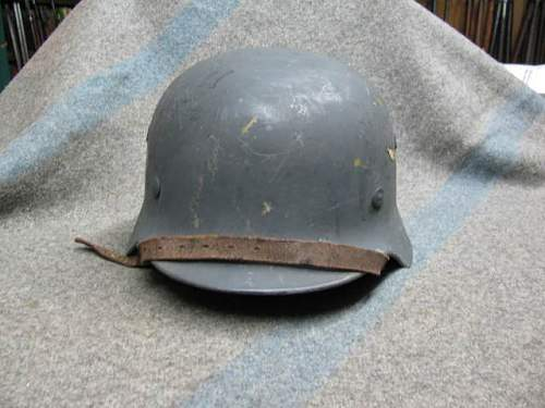 Opinions on M40 Luftwaffe Helmet