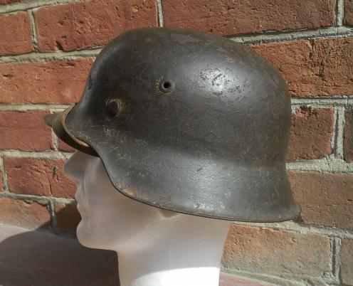 thoughts on the ss helmet and tan m40