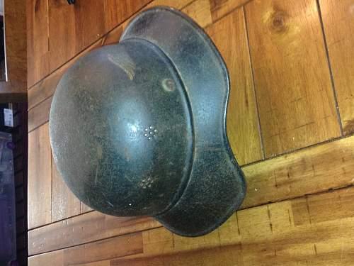 Luftschutz helmet - thoughts would be appreciated