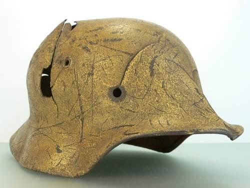 Interesting M42 helmet