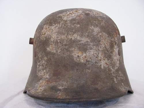 Winter Camo Stahlhelme