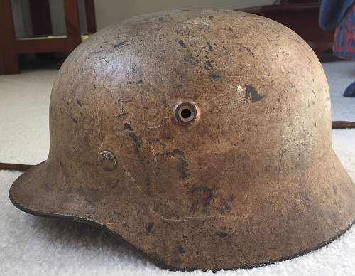 Luftwaffe Camo helmet for opinions...