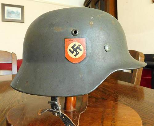 A Polizei M35 added at last