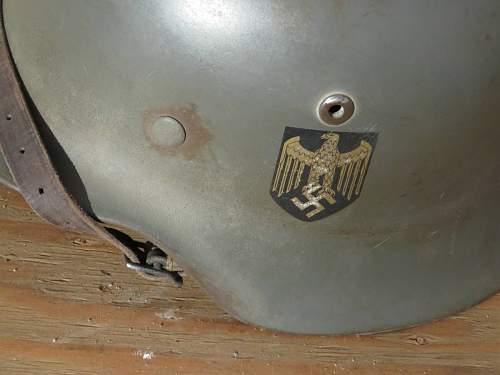 Help with M35 Single Decal Heer Helmet