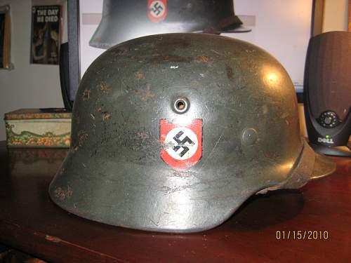M40 Police DD Combat Helmet