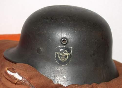 Polizei DD helmet M40